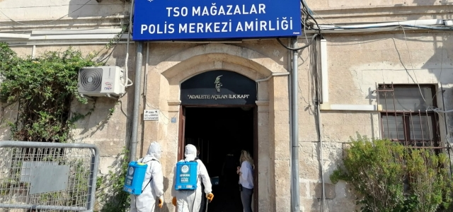 Akdeniz Belediyesi Dezenfekte Çalışması Yaptı