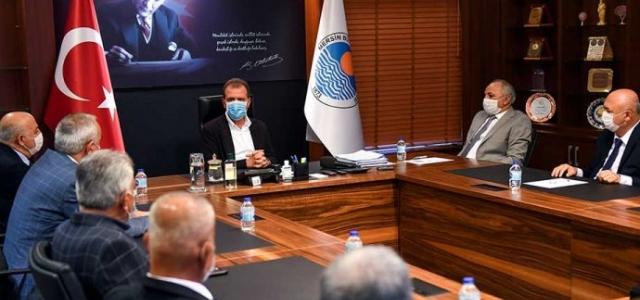 Başkan Seçer Esnaf Temsilcilerini Ağırladı