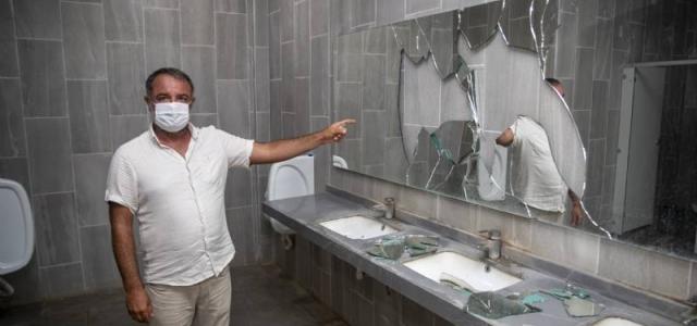Kültür Park'taki Tuvaletler Saldırıların Hedefinde!