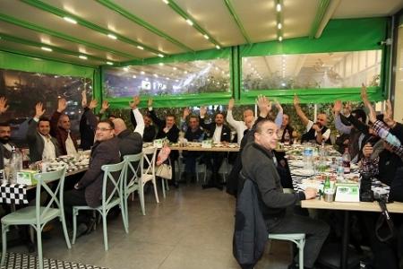 Mersin Beşiktaşlılar Derneği'nde Ufuk Onuk yeniden başkan