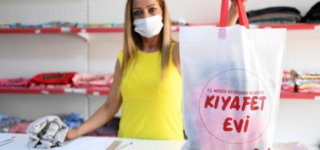 Mersin Büyükşehir'den Dar Gelirli Vatandaşlara Kıyafet Desteği