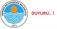 Mersin Büyükşehir Belediyesinden Kamuoyu...