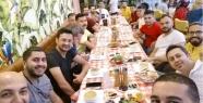 Mersin Fiesta Tutkunları iftarda buluştu