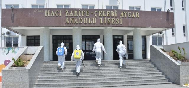 Yenişehir Belediyesinden Sınav Öncesi Temizlik